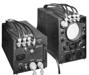 LORAN receiver set
